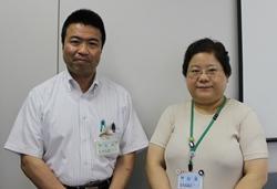 中嶋さん(左)と薄場さん(右)