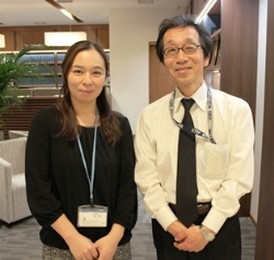 福永香織さん(左)と大隅一志さん(右)
